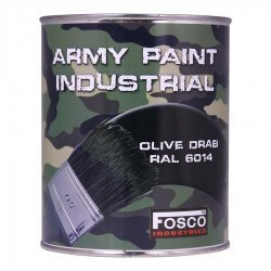 Fosco Tinplate Army Paint 1 Liter